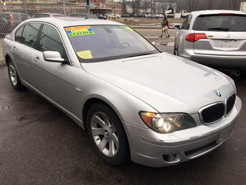 2007 BMW 7 Series for sale at Polonia Auto Sales and Service in Hyde Park MA