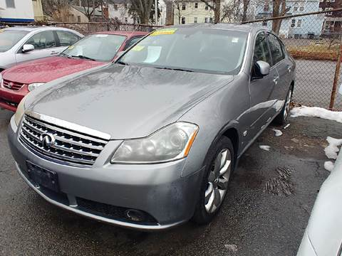 2007 Infiniti M35 for sale at Polonia Auto Sales and Service in Hyde Park MA