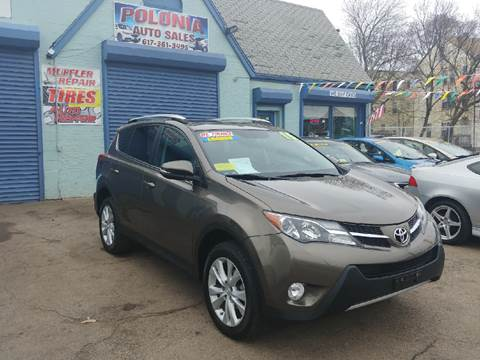 2015 Toyota RAV4 for sale at Polonia Auto Sales and Service in Hyde Park MA