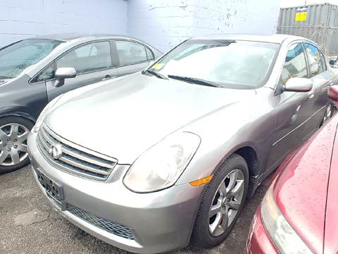 2005 Infiniti G35 for sale at Polonia Auto Sales and Service in Hyde Park MA