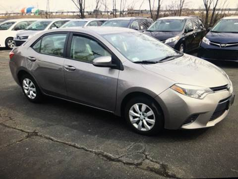 2015 Toyota Corolla for sale at Polonia Auto Sales and Service in Hyde Park MA