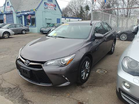 2015 Toyota Camry for sale at Polonia Auto Sales and Service in Hyde Park MA