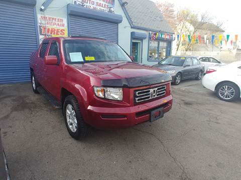 2006 Honda Ridgeline for sale at Polonia Auto Sales and Service in Hyde Park MA