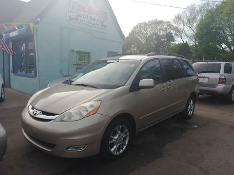 2006 Toyota Sienna for sale at Polonia Auto Sales and Service in Hyde Park MA