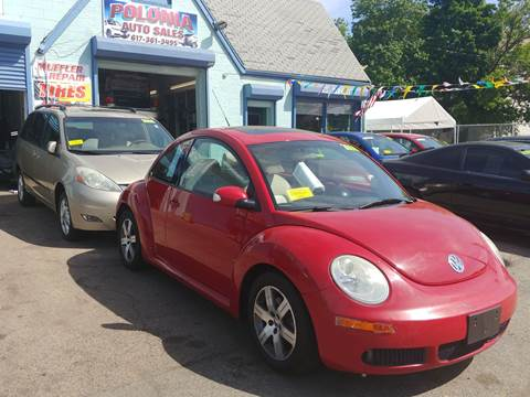 2006 Volkswagen New Beetle for sale at Polonia Auto Sales and Service in Hyde Park MA