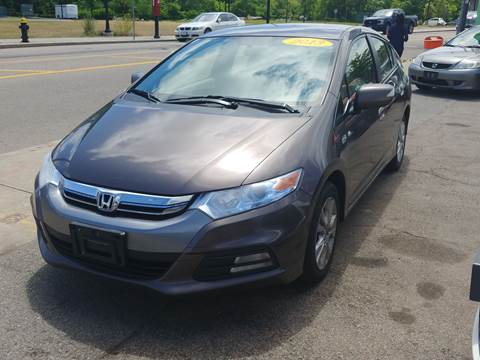 2013 Honda Insight for sale at Polonia Auto Sales and Service in Hyde Park MA