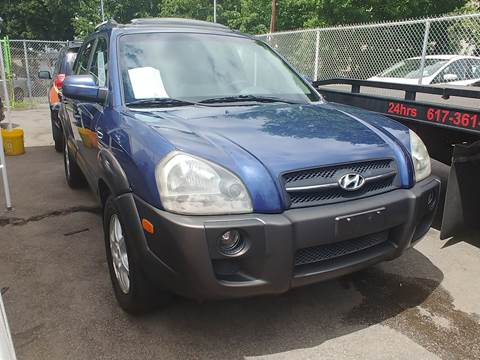 2005 Hyundai Tucson for sale at Polonia Auto Sales and Service in Hyde Park MA