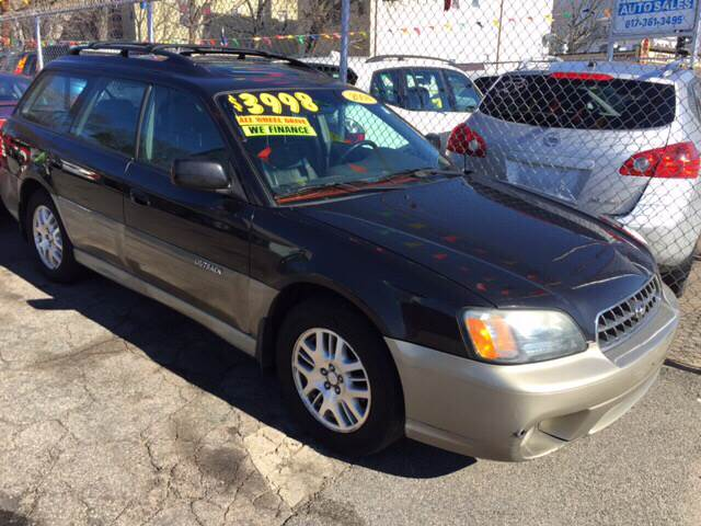 2004 Subaru Outback for sale at Polonia Auto Sales and Service in Hyde Park MA