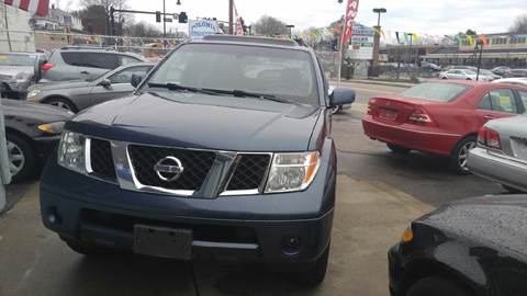 2006 Nissan Pathfinder for sale at Polonia Auto Sales and Service in Hyde Park MA