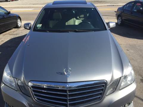 2010 Mercedes-Benz E-Class for sale at Polonia Auto Sales and Service in Hyde Park MA