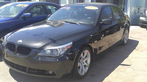 2005 BMW 5 Series for sale at Polonia Auto Sales and Service in Hyde Park MA