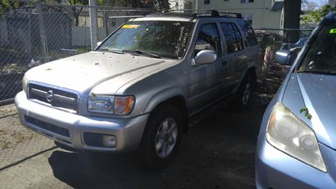 2002 Nissan Pathfinder for sale at Polonia Auto Sales and Service in Hyde Park MA