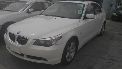 2007 BMW 5 Series for sale at Polonia Auto Sales and Service in Hyde Park MA