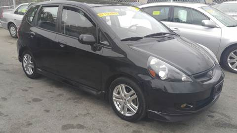 2007 Honda Fit for sale at Polonia Auto Sales and Service in Hyde Park MA