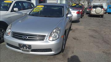 2006 Infiniti G35 for sale at Polonia Auto Sales and Service in Hyde Park MA
