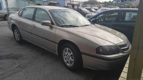2002 Chevrolet Impala for sale at Polonia Auto Sales and Service in Hyde Park MA