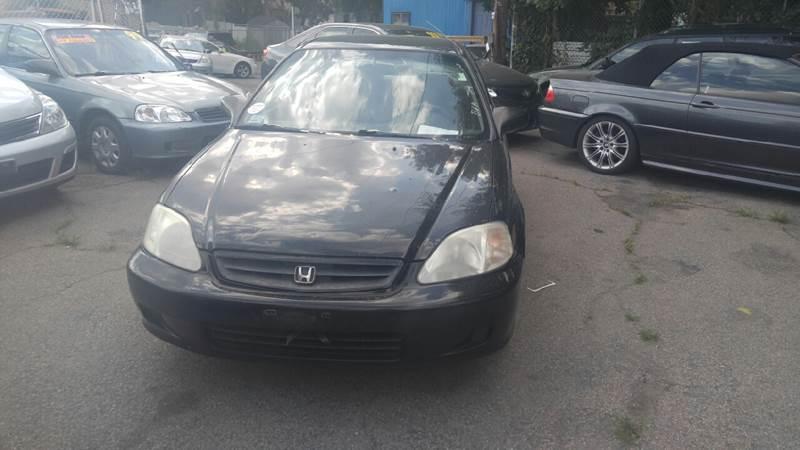 2000 Honda Civic DX 2dr Coupe   Hyde Park MA