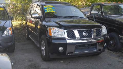 2007 Nissan Armada for sale at Polonia Auto Sales and Service in Hyde Park MA