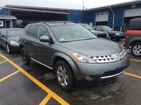 2006 Nissan Murano for sale at Polonia Auto Sales and Service in Hyde Park MA