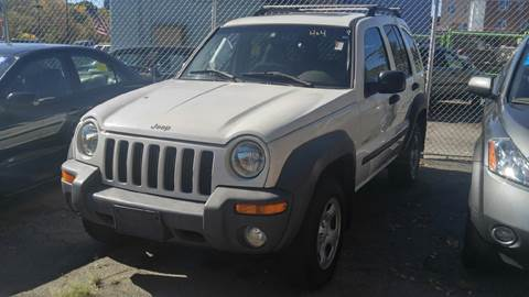 2002 Jeep Liberty for sale at Polonia Auto Sales and Service in Hyde Park MA