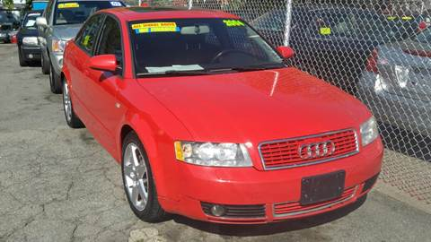 2004 Audi A4 for sale at Polonia Auto Sales and Service in Hyde Park MA