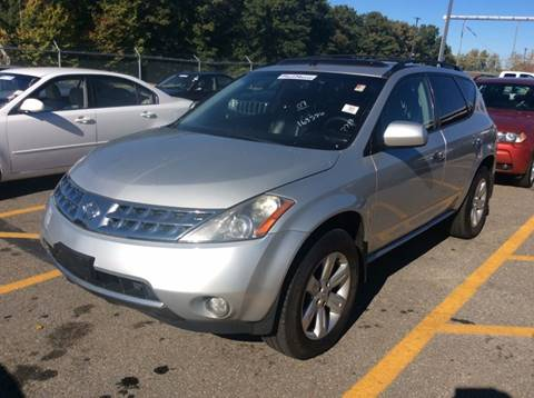 2007 Nissan Murano for sale at Polonia Auto Sales and Service in Hyde Park MA