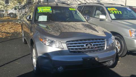 2004 Infiniti FX35 for sale at Polonia Auto Sales and Service in Hyde Park MA