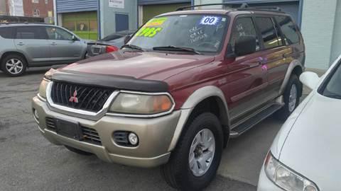 2000 Mitsubishi Montero Sport for sale at Polonia Auto Sales and Service in Hyde Park MA