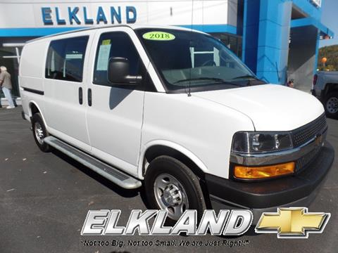 2018 Chevrolet Express Cargo for sale in Elkland, PA