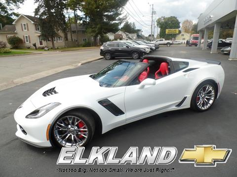 2015 Chevrolet Corvette for sale in Elkland, PA