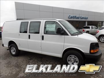 2017 Chevrolet Express Cargo for sale in Elkland, PA