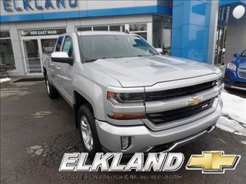 2017 Chevrolet Silverado 1500 for sale in Elkland, PA
