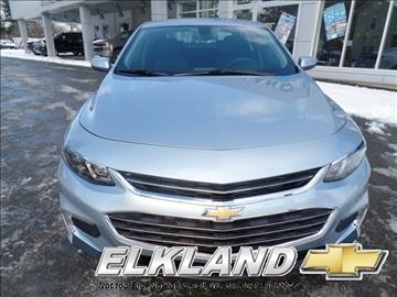 2017 Chevrolet Malibu for sale in Elkland, PA