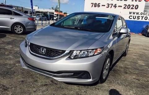 2013 Honda Civic for sale in Hialeah, FL