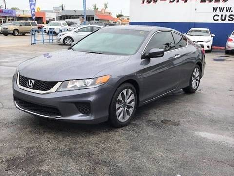 2013 Honda Accord for sale in Hialeah, FL