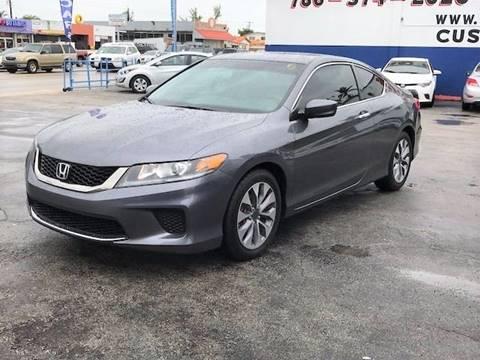 2013 Honda Accord for sale in Hialeah, FL