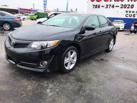 2013 Toyota Camry for sale in Hialeah, FL
