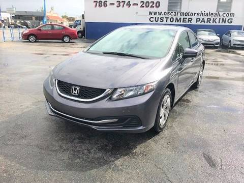 2014 Honda Civic for sale in Hialeah, FL