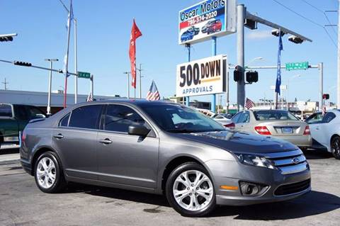 2012 Ford Fusion for sale in Hialeah, FL