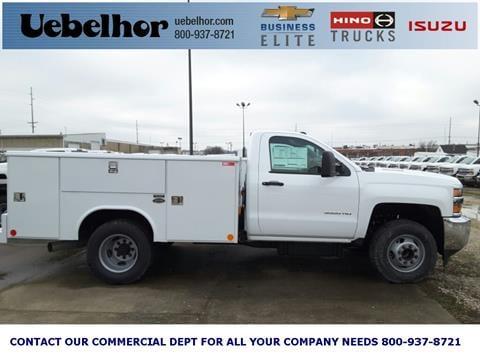 2016 Chevrolet Silverado 3500HD Utility Servi for sale in Jasper, IN
