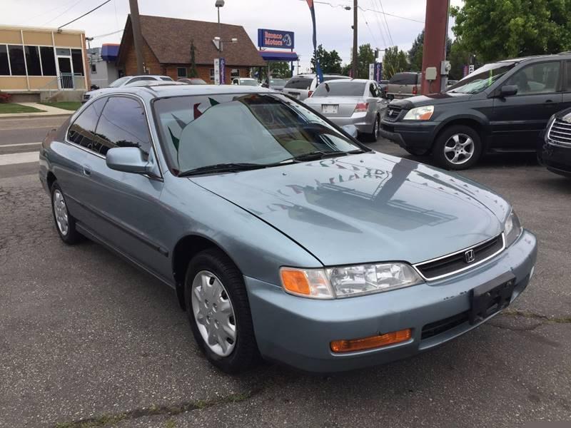 1996 Honda Accord LX 2dr Coupe   Boise ID