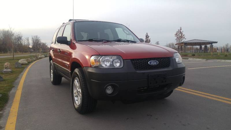 2005 Ford Escape Hybrid 4dr Suv In Boise Id Shamsi Auto Sales