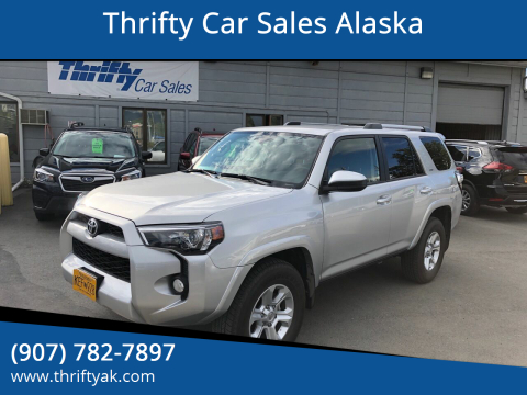 2019 Toyota 4Runner for sale at Thrifty Car Sales Alaska in Anchorage AK