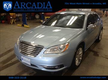2012 Chrysler 200 for sale in Arcadia, WI
