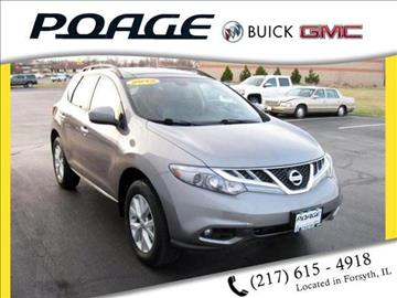 2012 Nissan Murano for sale in Forsyth, IL