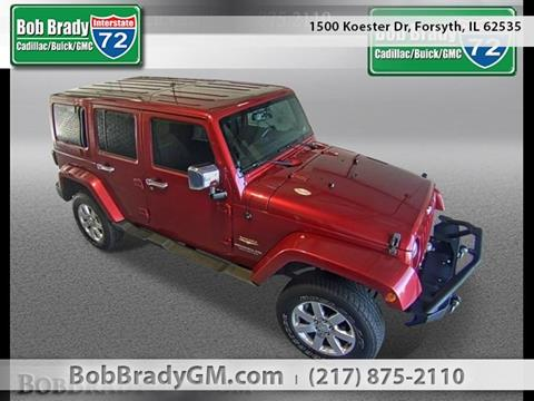 2013 Jeep Wrangler Unlimited for sale in Forsyth, IL
