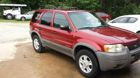 2001 Ford Escape for sale at HWY 49 MOTORCYCLE AND AUTO CENTER in Liberty NC
