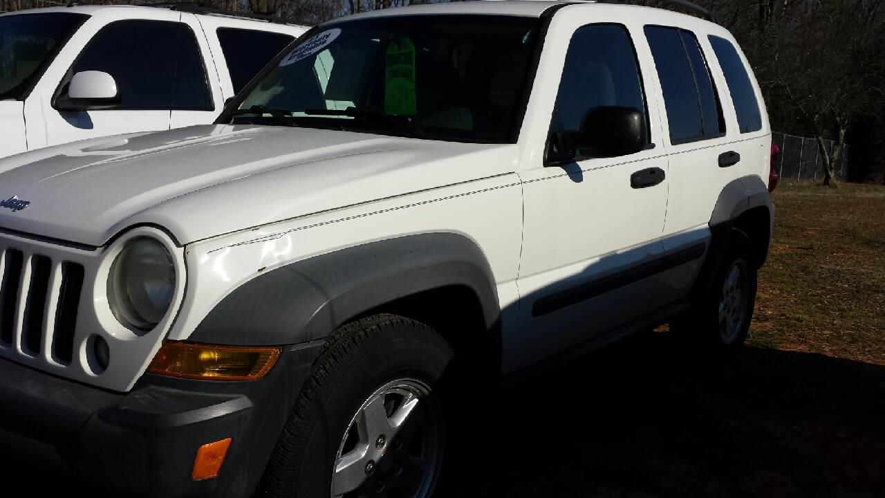 2007 Jeep Liberty For Sale At HWY 49 MOTORCYCLE AND AUTO CENTER In Liberty  NC