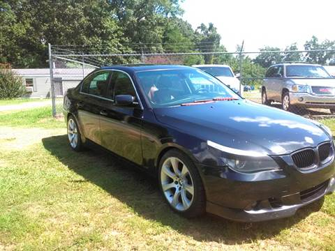 2006 BMW 5 Series for sale at HWY 49 MOTORCYCLE AND AUTO CENTER in Liberty NC