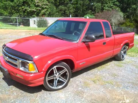 1997 Chevrolet S-10 for sale at HWY 49 MOTORCYCLE AND AUTO CENTER in Liberty NC